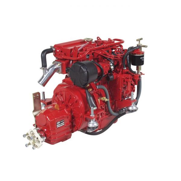 marine diesel engine rated at 30hp