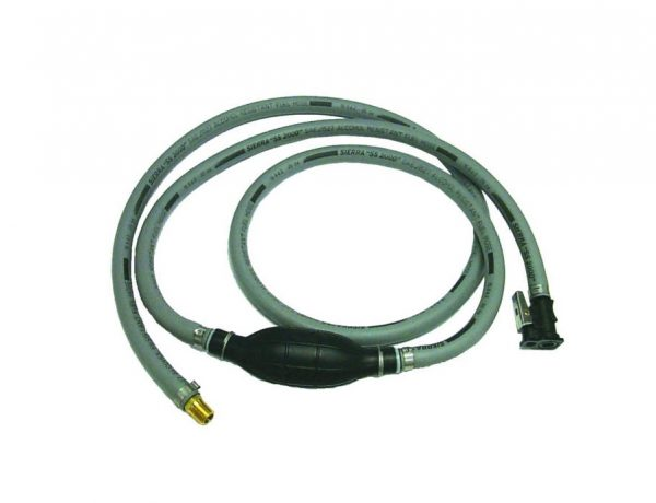 8 foot fuel line with fittings